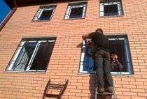 Монтаж решеток в Анапе