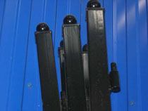 монтаж металлические столбы в Анапе