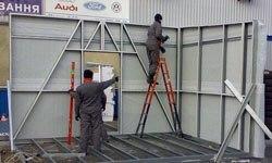 Строительство торговых павильонов в Анапе БМЗ