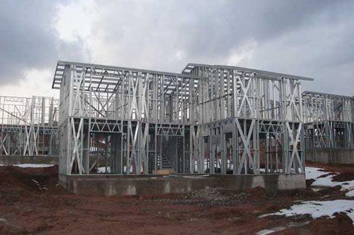 Здания на основе облегчённого металлического каркаса в Анапе